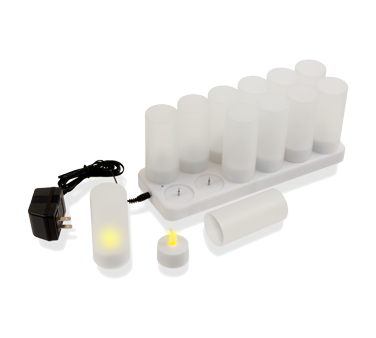 RCL12 Crestware - Flameless Candle Light Set (12) candles