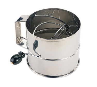 SFS08 Crestware - Rotary Flour Sifter 8 cup