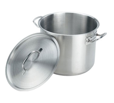SSPOT08 Crestware - Induction Stock Pot & Cover 8 qt.