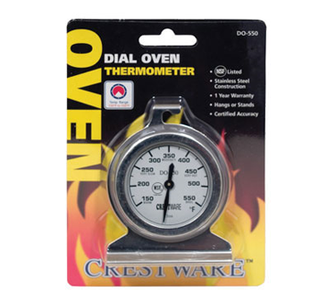 TRMDO550 Crestware - Oven Thermometer 150?? to 550??F
