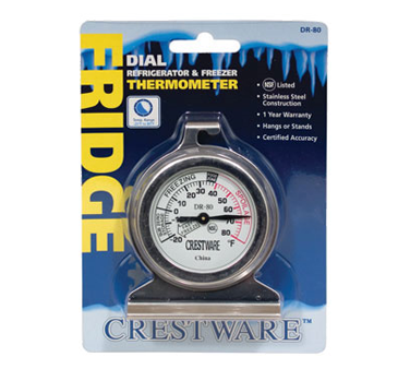 TRMDR80 Crestware - Refrigerator/Freezer Thermometer dial