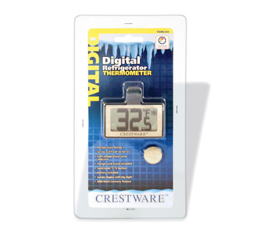 TRME344 Crestware - Refrigerator Thermometer digital