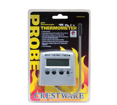 TRMPROBE Crestware - Digital Meat Thermometer probe with thermocouple