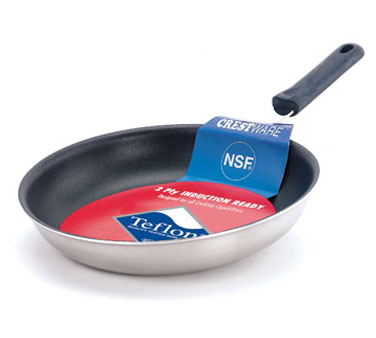 FRY08XIH Crestware - Induction Fry Pan 8-1/2