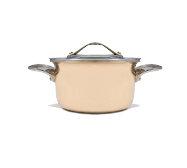 3212101 Eurodib USA - Mini Copper Casserole with Lid 4