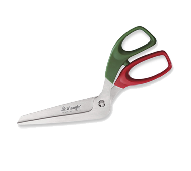 5049111 Eurodib Usa Triangle 174 Pizza Scissors Angled Handle