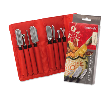 9083108 Eurodib USA - Triangle® Special Carving Tool Set (8) pieces