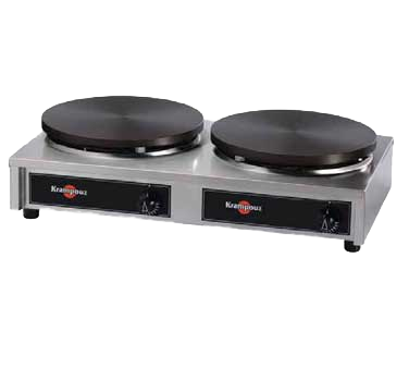 cgcim4 eurodib usa krampouz crepe griddle gas. Black Bedroom Furniture Sets. Home Design Ideas