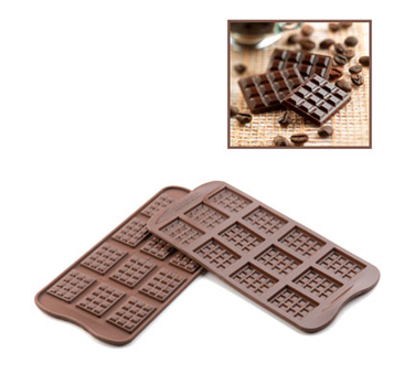 SCG11 Eurodib USA - Silikomart Chocolate Mold Tablette