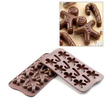 SCG12 Eurodib USA - Silikomart Chocolate Mold Mr. Ginger