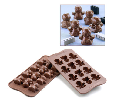 SCG15 Eurodib USA - Silikomart Chocolate Mold Mood