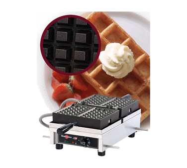 WECDAAAS Eurodib USA - Krampouz Belgian Waffle Maker single with 180° opening