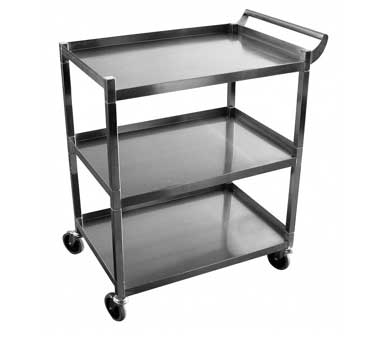 C-32K GSW USA - Utility Cart, medium, (3) shelves with 13