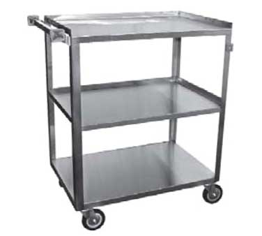 C-3222 GSW USA - Bus Cart, medium, (3) shelves with 13