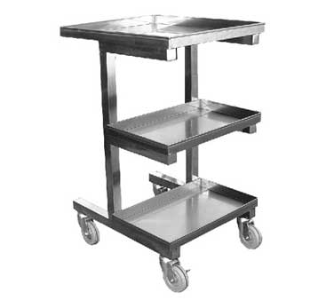 C-SCE GSW USA - Sauce Pan Cart, for Chinese wok range