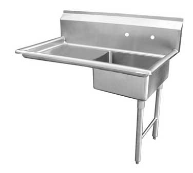 DT48U-R GSW USA - Dishtable, undercounter, 48
