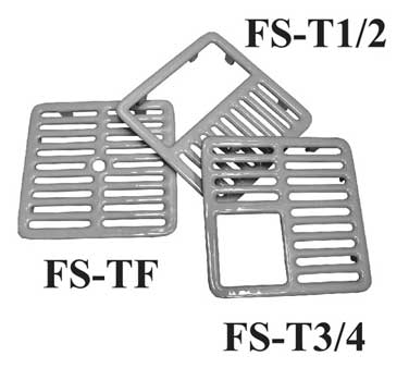 FS-T1/2 GSW USA - Top Grate, 1/2 full size, 9-3/8