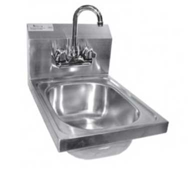HS-1217W GSW USA - Hand Sink, wall mount, space saver, 9-3/4''L x 12-1/2