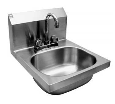 Hs 1416d Gsw Usa Hand Sink Wall Mount 12 1 2 Quot L X 9 3 4
