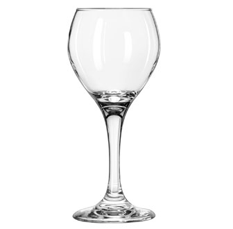 3064 Libbey Glass - Red Wine Glass, 8 oz., Safedge rim and foot guarantee, one-piece, PERCEPTION®
