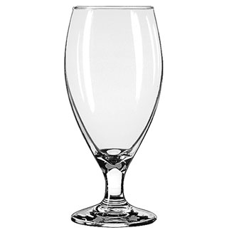 3915 Libbey Glass - Beer Glass, 14-3/4 oz., Safedge rim and foot guarantee, TEARDROP™