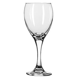 3965 Libbey Glass - White Wine Glass, 8-1/2 oz., Safedge rim and foot guarantee, TEARDROP™