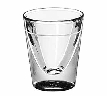 5122/S0709 Libbey Glass - Shot Glass, 1 oz., lined at 5/8 oz.