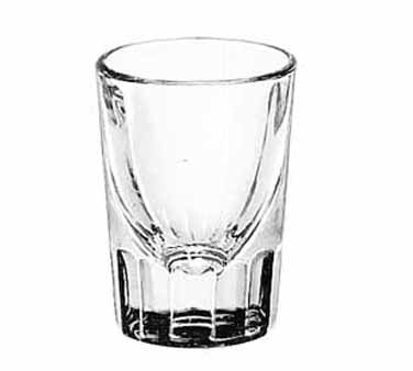 5126 Libbey Glass - Shot Glass, 2 oz., fluted