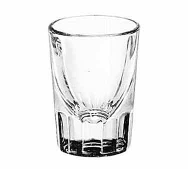 5127 Libbey Glass - Whiskey Shot Glass, 1-1/2 oz., fluted