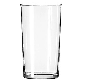 53 Libbey Glass - Collins Glass, 10 oz., safedge rim guarantee, straight sided