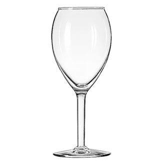 8412 Libbey Glass - Wine Glass, 12 oz., tall, safedge rim guarantee, CITATION GOURMET