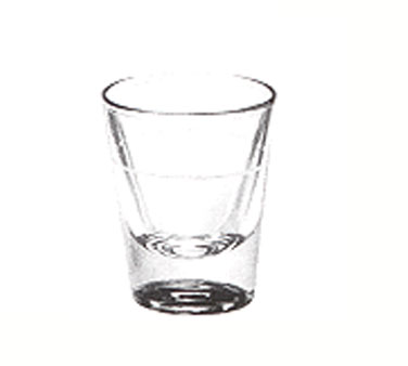 5121/S0711 Libbey Glass - Shot Glass, 1-1/4 oz., lined at 7/8 oz.