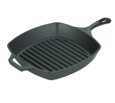 L8SGP3 - Lodge Manufacturing Lodge Logic Grill Pan 10-1/2