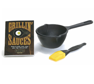 Cast Iron Sauce Pan