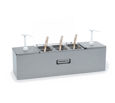 88100-CB-2 Nemco - Roll-A-Grill® Condiment Station 25.75