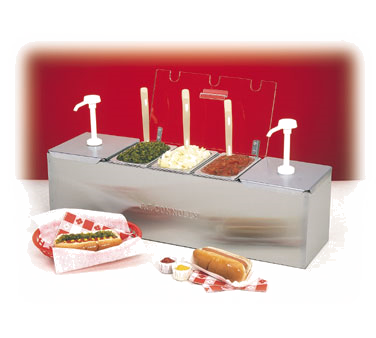 88100-CB-1 Nemco - Roll-A-Grill® Condiment Station 25.75
