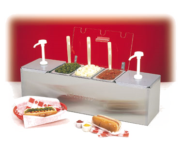 88100-CB-3 Nemco - Roll-A-Grill® Condiment Station 25.75