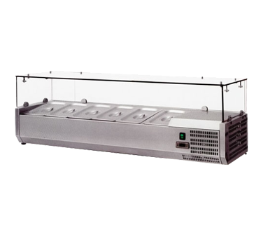 Refrigerated Countertop Pan Rail