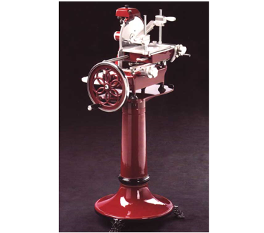 MS-IT-0250-M Omcan - (20013) Volano Meat Slicer fully hand-operated