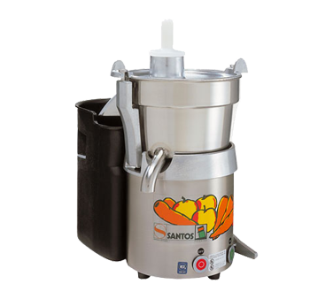 SANTOS 28 Omcan - (10827) Santos® Fruit & Vegetable Juicer (105.67) quarts/hr