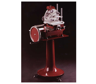 MS-IT-0300-M Omcan - (13634) Volano Meat Slicer fully hand-operated