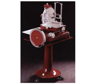 MS-IT-0350-M Omcan - (13639) Volano Meat Slicer fully hand-operated