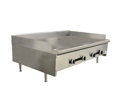 CE-CN-1219-G Omcan - (37524) Griddle gas