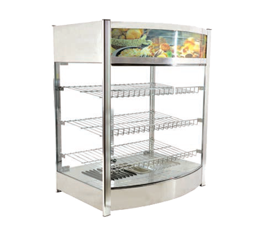40001 Omcan - (40001) Elite Series Heated Display Case countertop