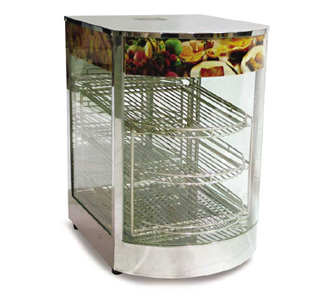 DH1P Omcan - (21829) Food Warmer/Display Case (3) tier