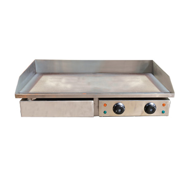 LS-820 Omcan - (34870) Griddle electric