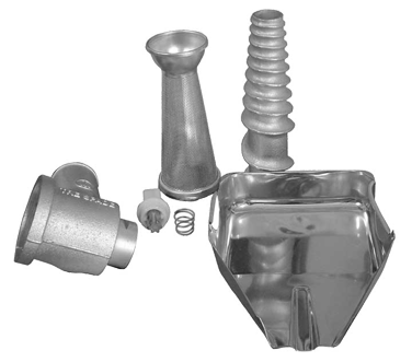 TA12ELN Omcan - (17778) Tomato Attachment Nozzle for 12EL
