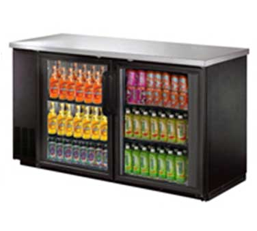 UBB-24-60G Omcan - (31862) Refrigerated Back Bar Cooler reach-in
