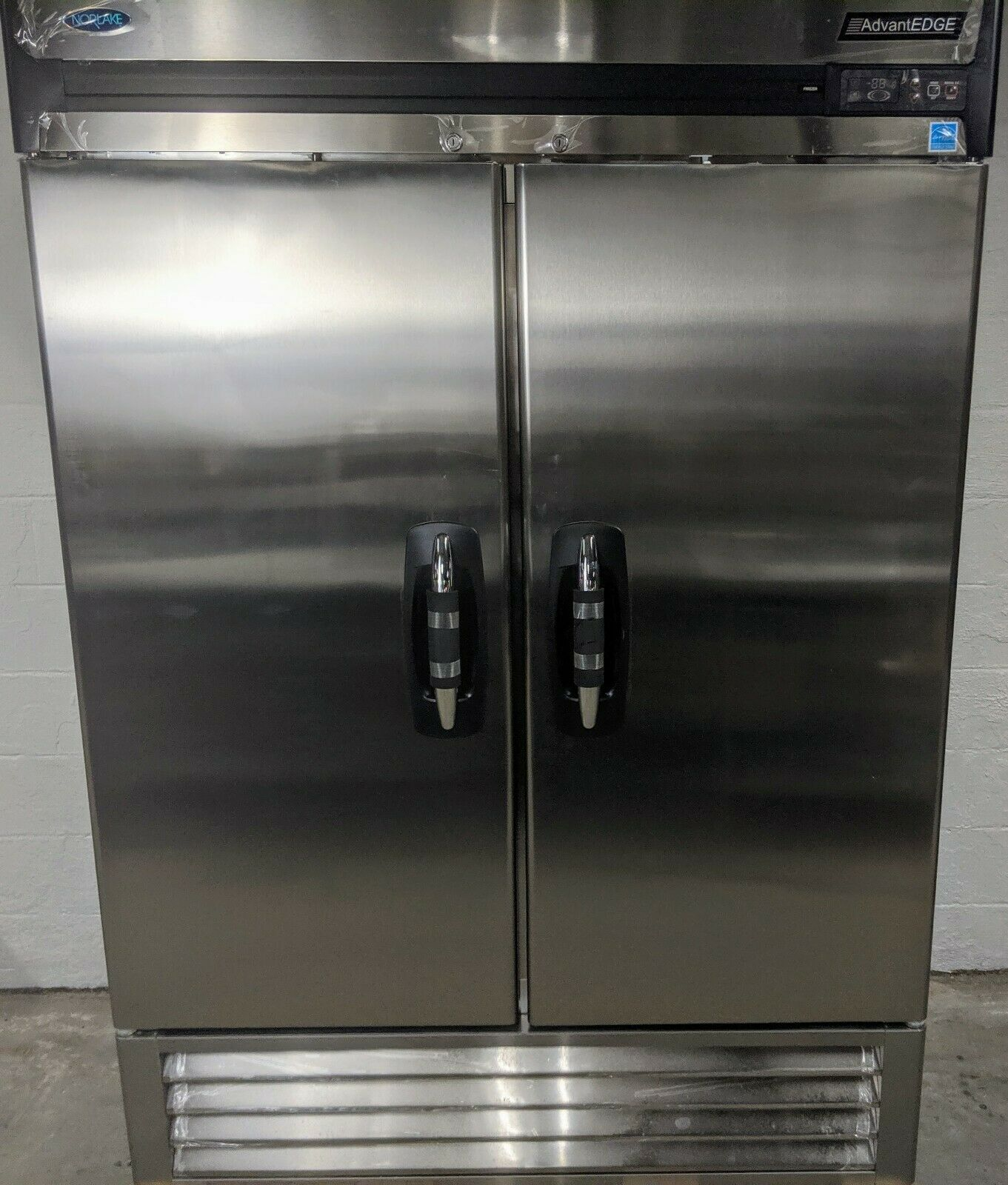 Open Box Nor-Lake NLF49-S Two Section Reach In Freezer