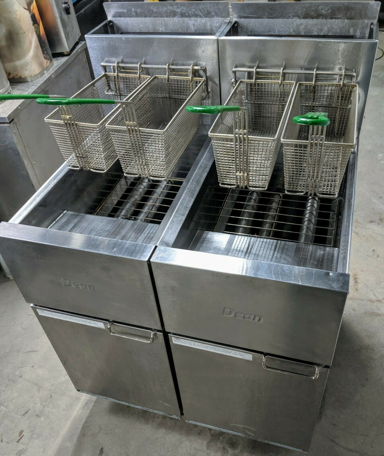 Used Dean (2) SR42G Super Runner Value Fryer gas